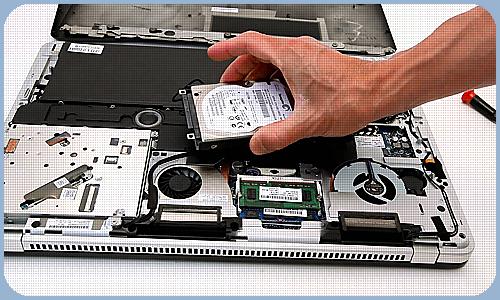 Замена и установка жесткого диска